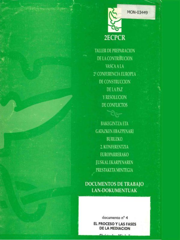 El proceso y las fases de la mediación. El caso de Sudán. Christopher R. Mitchell