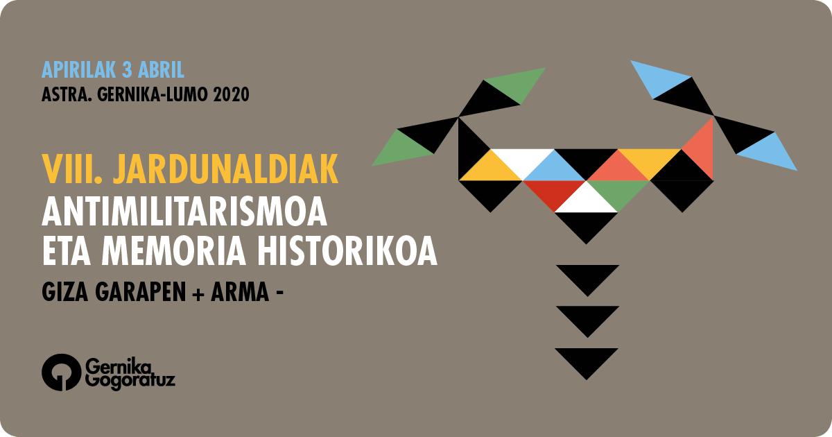 jornadas antimilitaristas 2020 gernika astra