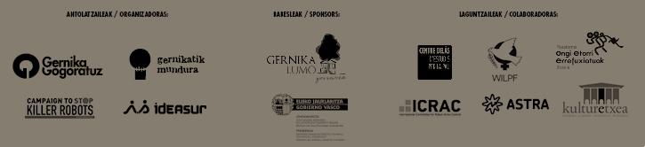 organizador jornadas antimilitaristas de gernika