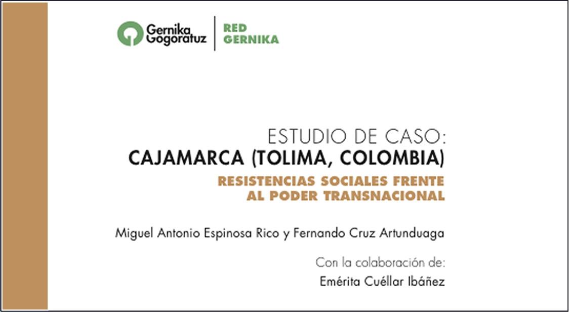 estudio de caso Cajamarca, Miguel Antonio Espinosa Rico y Fernando Cruz