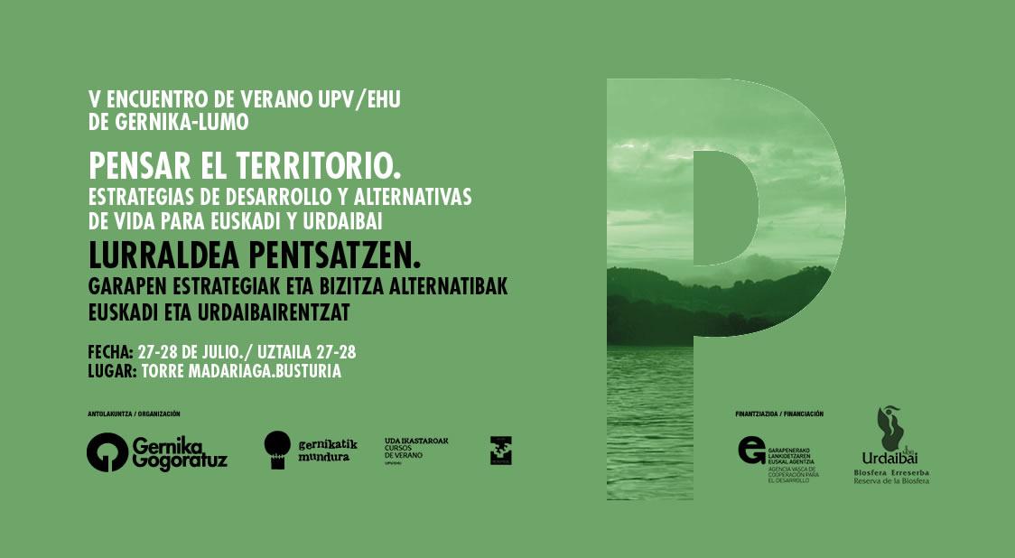 V encuentro de verano upv/ehu gernika-lumo