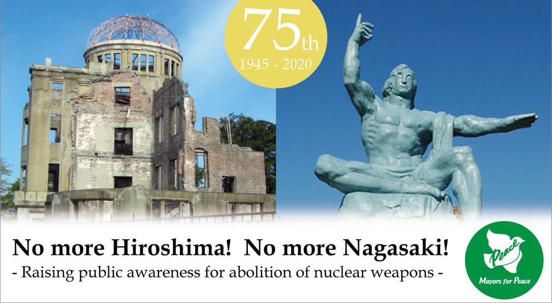 No más Hiroshima! ¡No más Nagasaki
