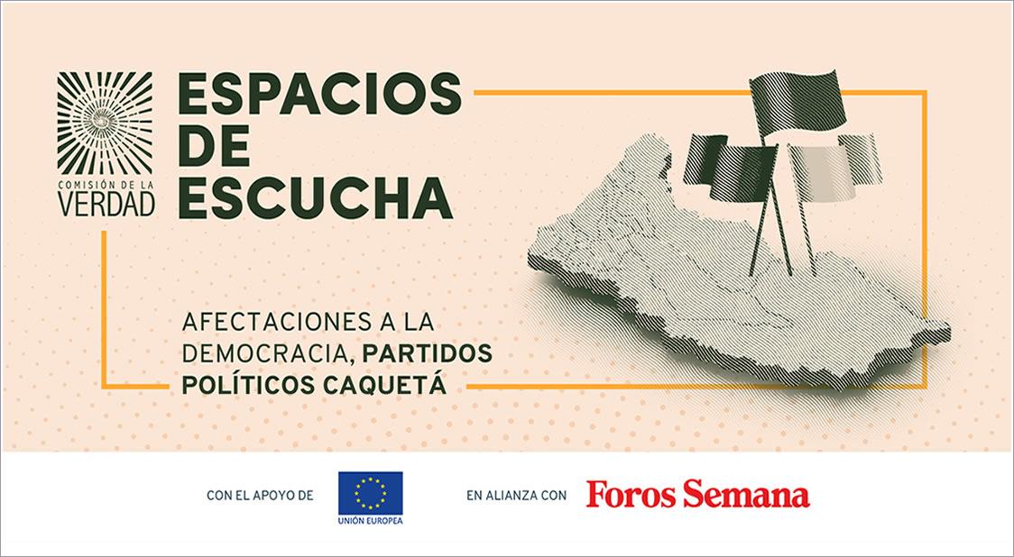 PANEL SOBRE LAS AFECTACIONES A LA DEMOCRACIA EN CAQUETÁ, COLOMBIA