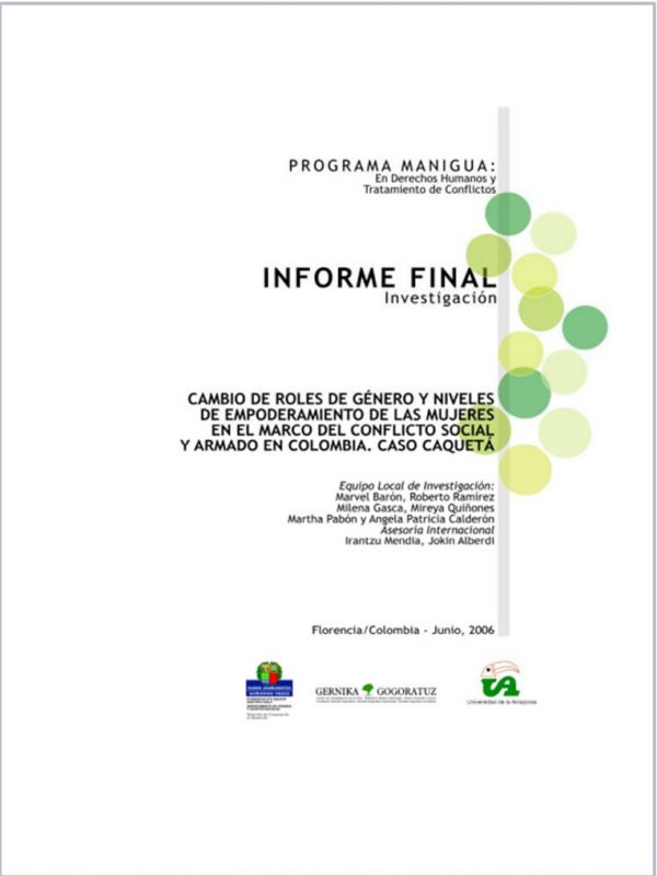 Informe final. programa manigua