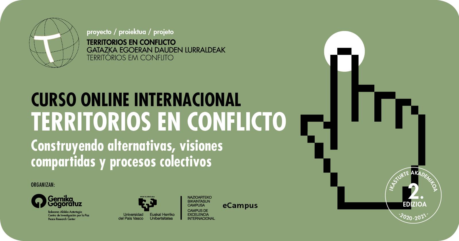 Gernika Gogoratuz. 2ª Edición del Curso Online Internacional, Territorios en Conflicto