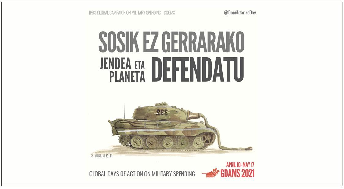 IPB Llamamiento: Reduzcamos el Gasto Militar. Defendamos a la Gente y al Planeta
