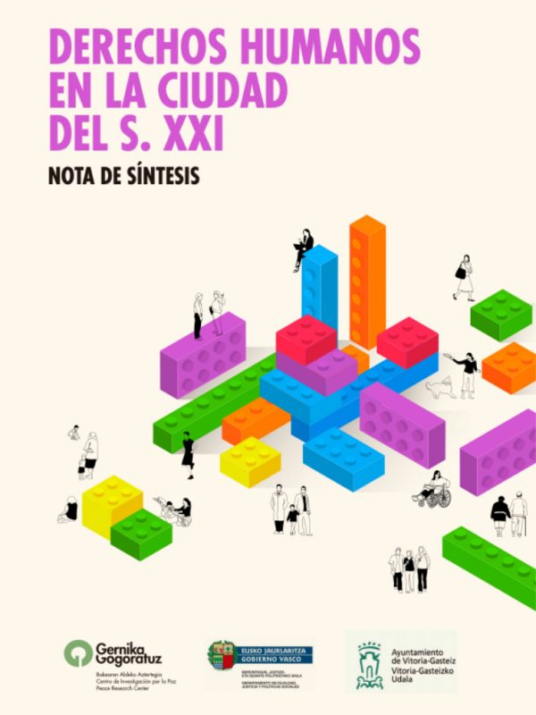 Jornada Derechos humanos en la ciudad del S. XXI. Ayuntamiento de Vitoria