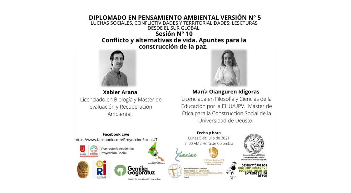 Urdaibai Diplomado María Oianguren y Xabier Arana